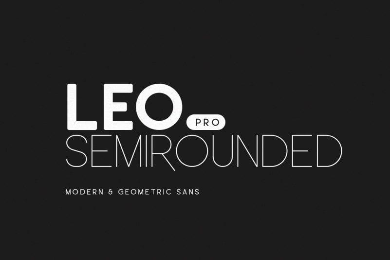 Leo Rounded Free Semi Pro Font