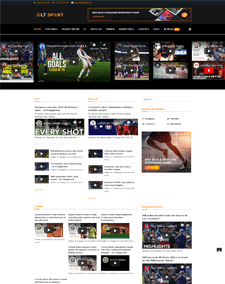 LT Sport – Premium Sports News Joomla template