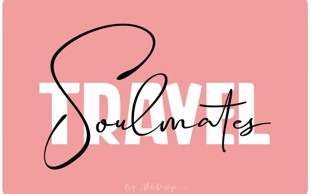 Free Travel Soulmates Font Duo