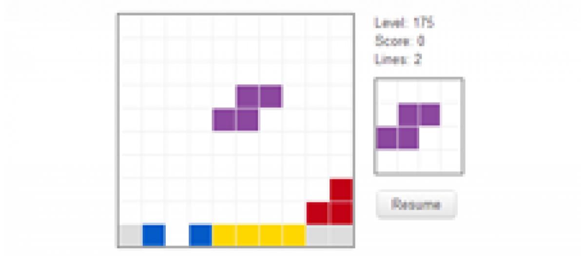 JT Tetris game