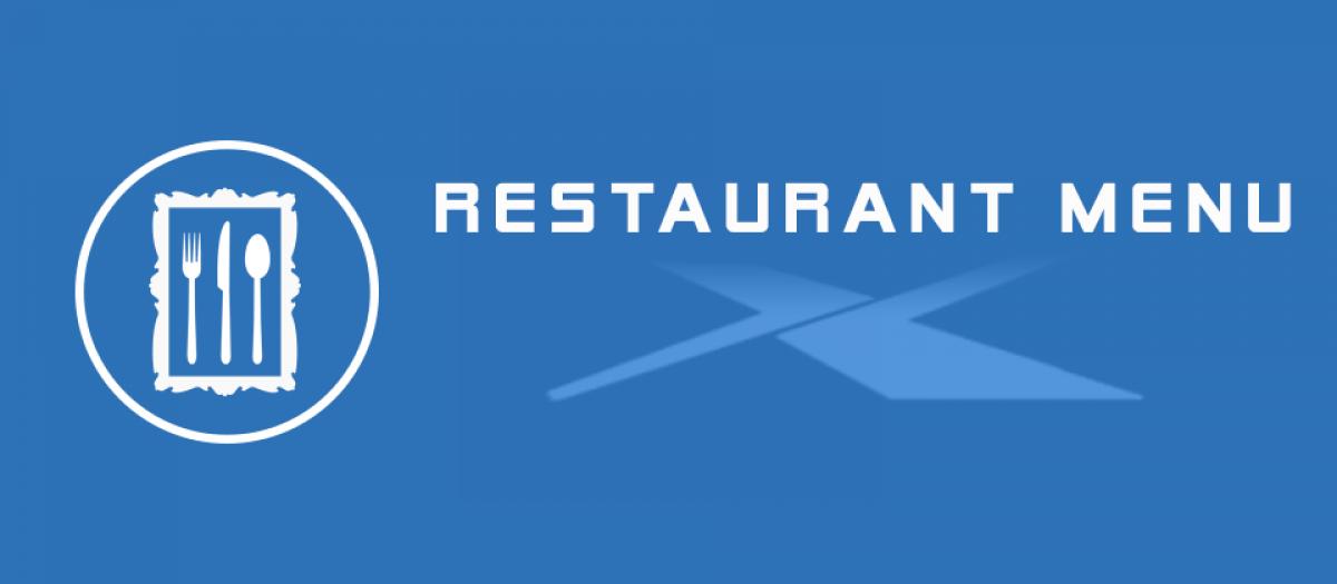 JUX 3D Restaurant Menu