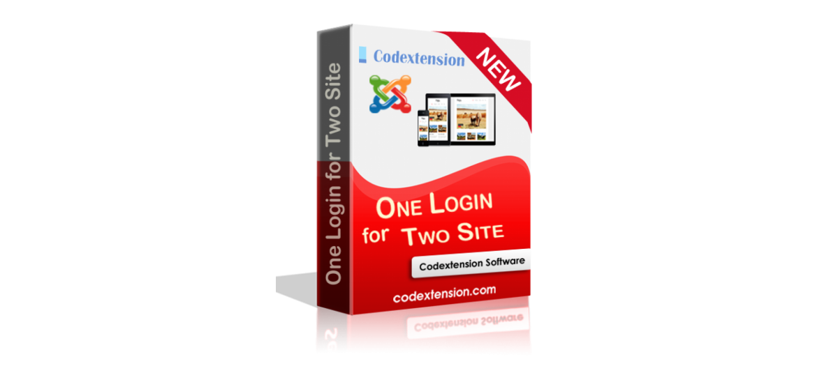 One Login for Two Site