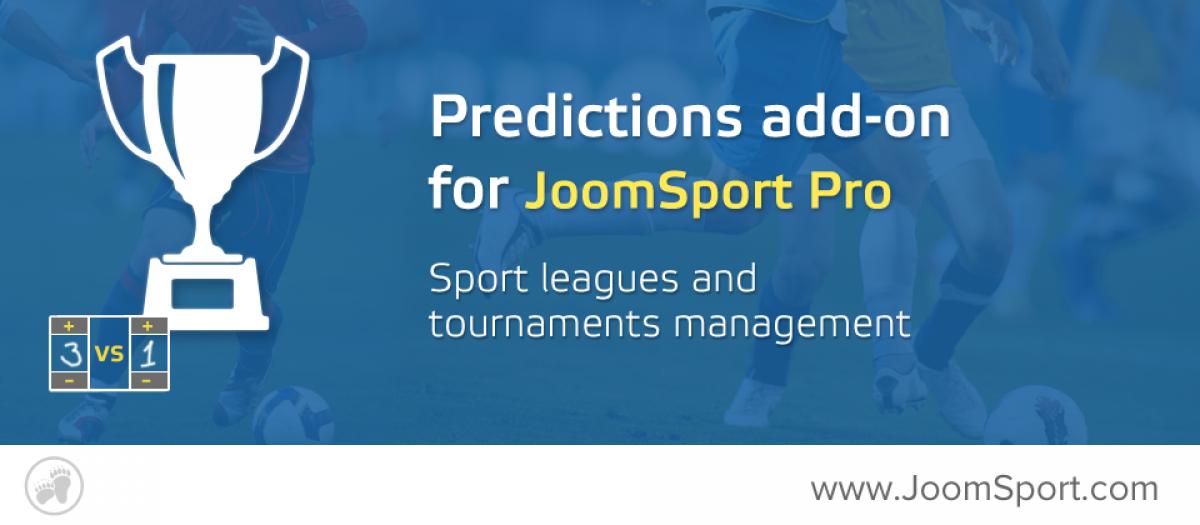 Sport Predictions for JoomSport