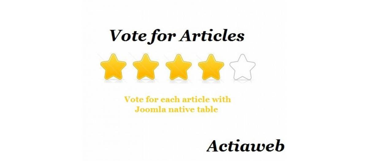Vote for articles