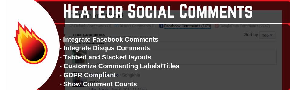 WordPress Social Comments Plugin for Facebook Comments, Disqus Comments