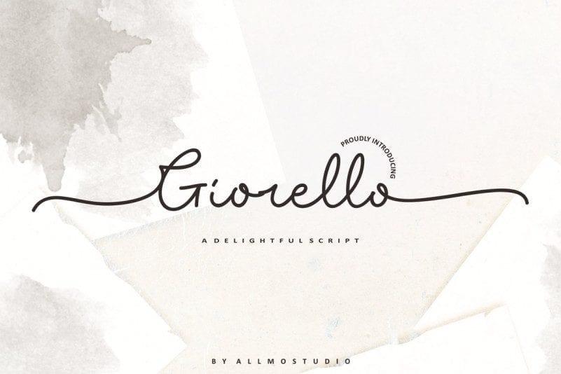 Free Giorello Signature Font