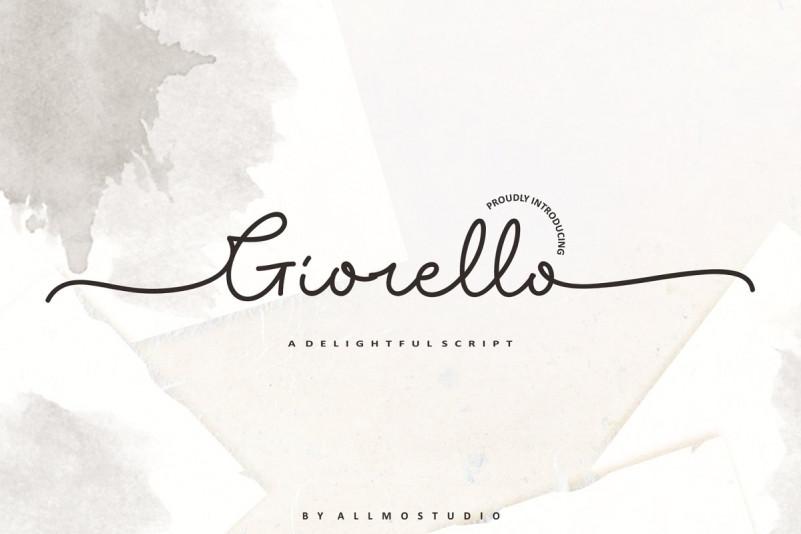 Free Giorello Signature Font Ltheme