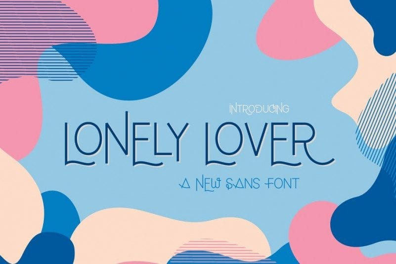 Lonely Lover Free Sans Font