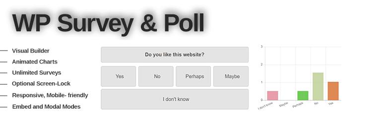 WordPress Survey and Poll