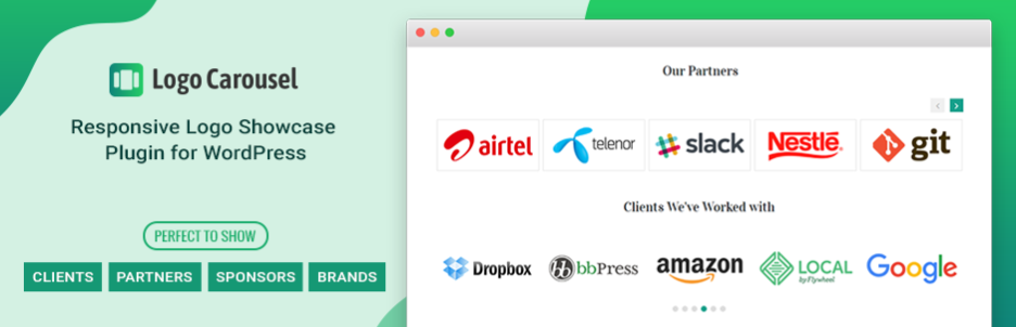 Logo Carousel – Best Logo Slider and Clients Logo Gallery Plugin for WordPress
