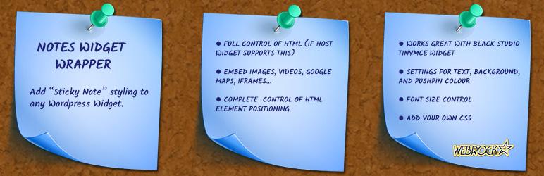 Notes Widget Wrapper