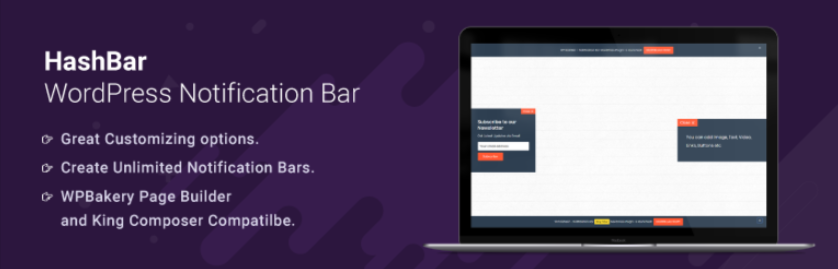 Top 8 Effective WordPress Notification Bar Plugin In 2021