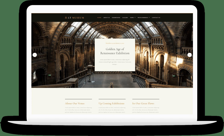 LT-Museum-wordpress-theme