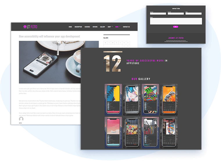 lt-foto-free-wordpress-theme-contact