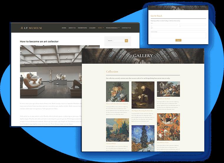 lt-museum-free-wordpress-theme-contact
