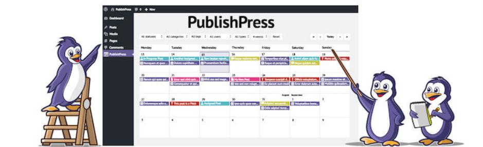 PublishPress Content Calendar and Notifications
