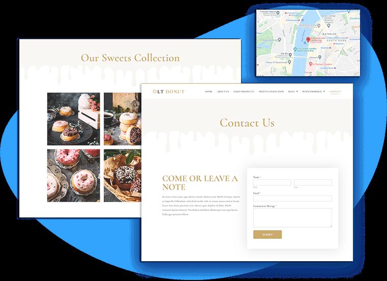 lt-donut-free-wordpress-theme-contact