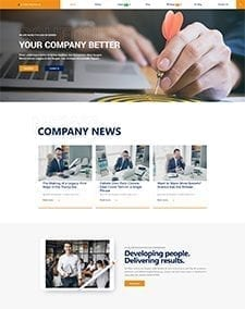 LT Pro Business – Free Joomla Business template
