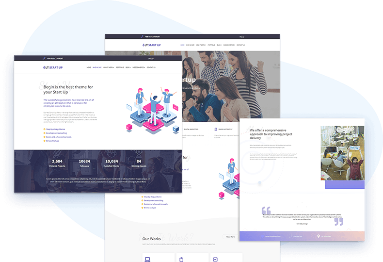 lt-startup-free-wordpress-theme-elementor