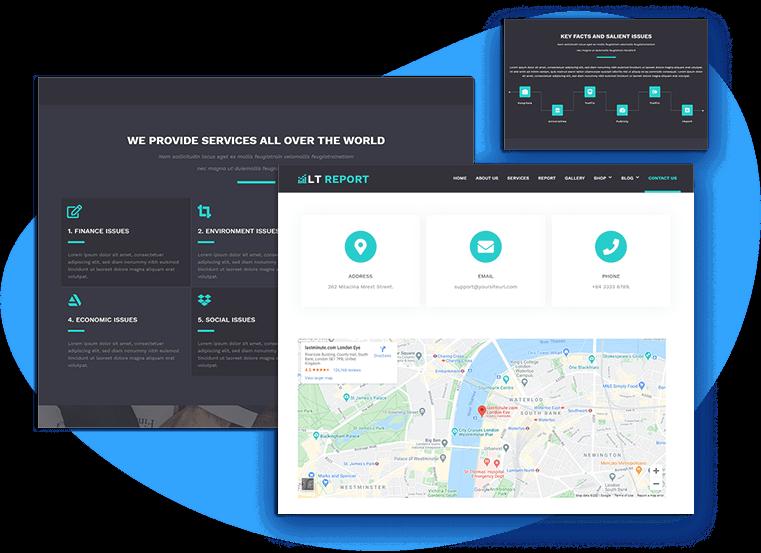 lt-report-free-wordpress-theme-contact