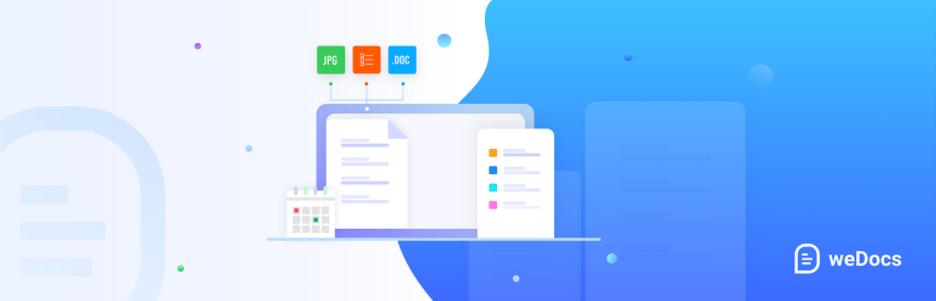 weDocs – Knowledgebase and Documentation Plugin for WordPress