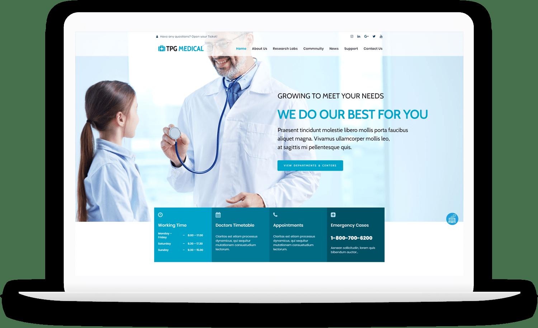 tpg-medical-free-responsive-wordpress-theme