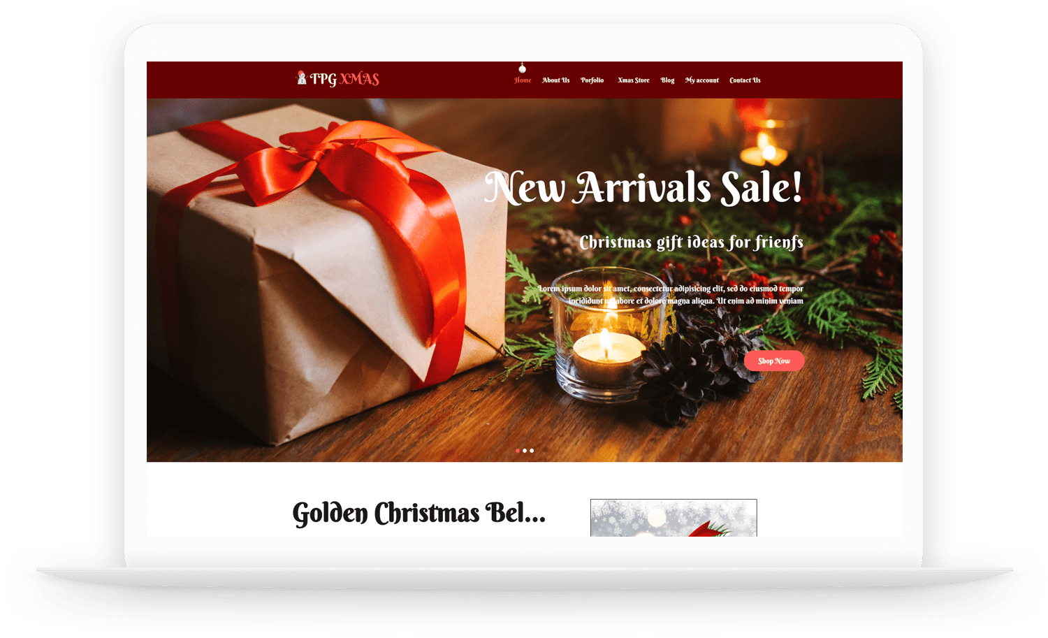 tpg-xmas-free-responsive-wordpress-theme