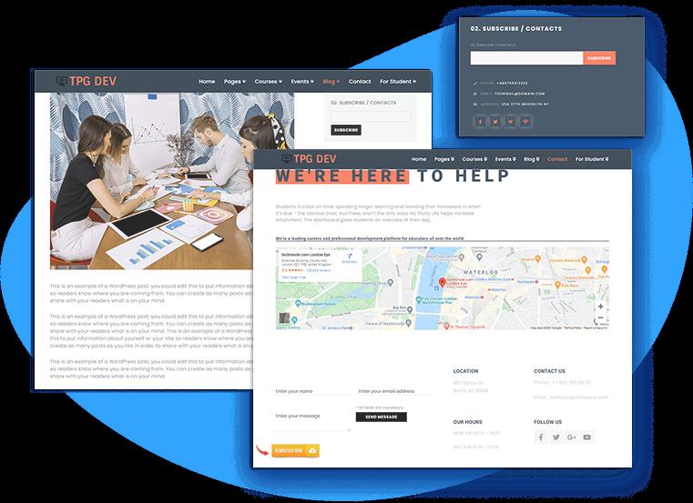 tpg-dev-free-wordpress-theme-contact