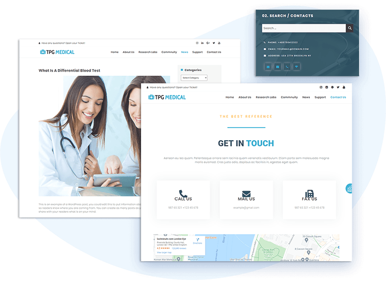 tpg-medical-free-wordpress-theme-contact