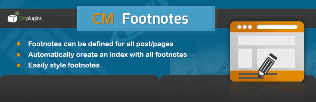 CM Footnotes