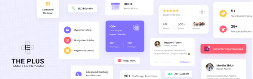 The Plus Addons for Elementor Page Builder Lite