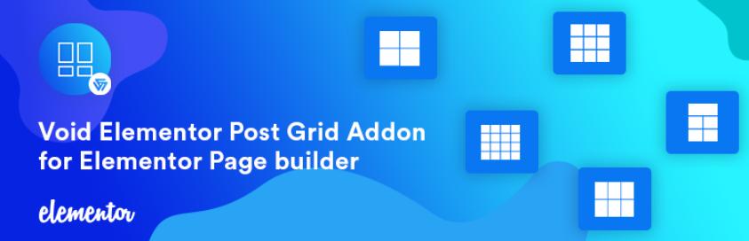 Void Elementor Post Grid Addon for Elementor Page builder