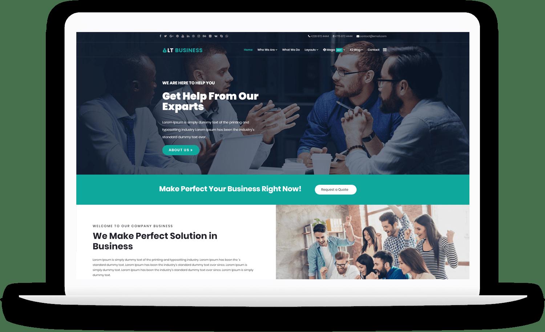LT-Business-wordpress-theme