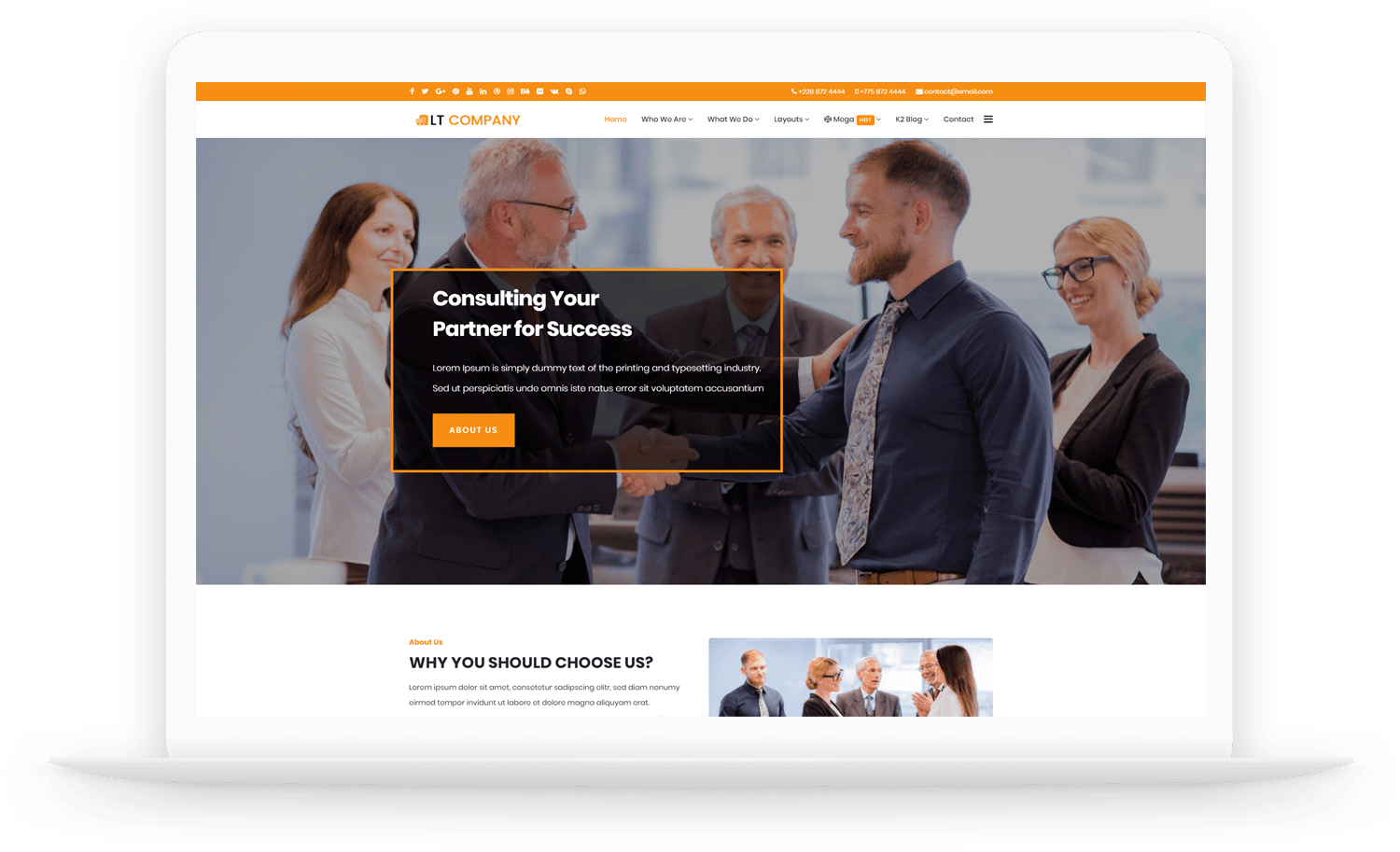 LT-Company-wordpress-theme