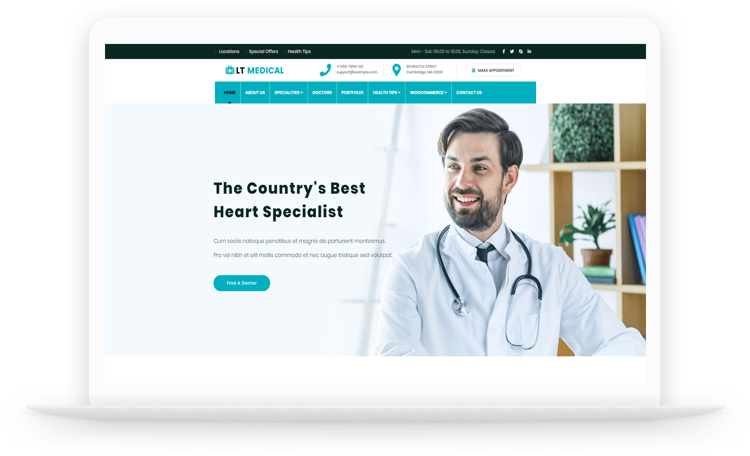 LT-Medical-wordpress-theme