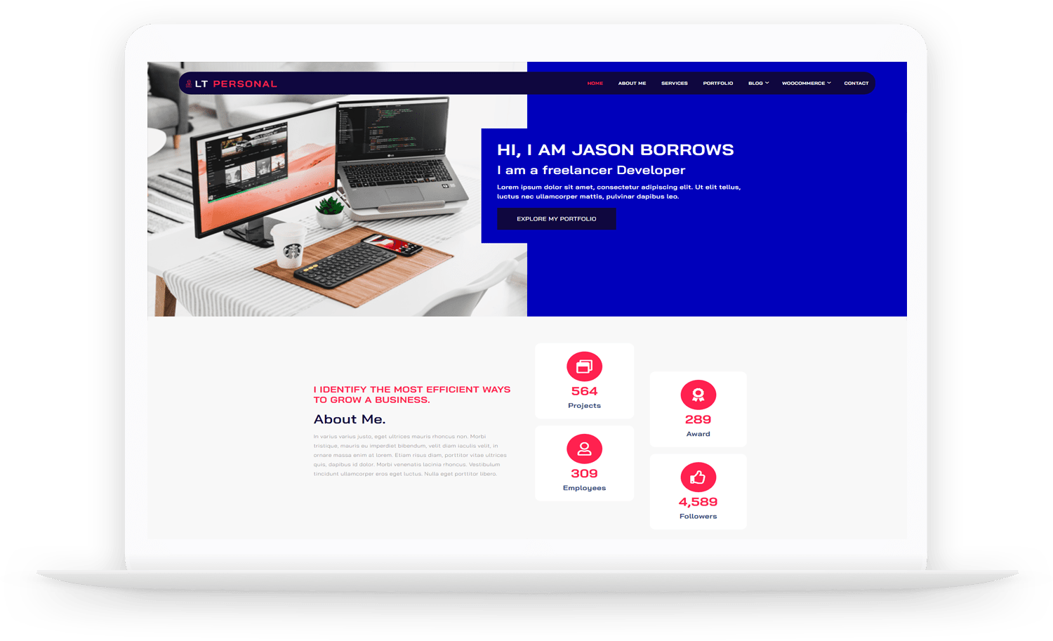 LT-Personal-wordpress-theme