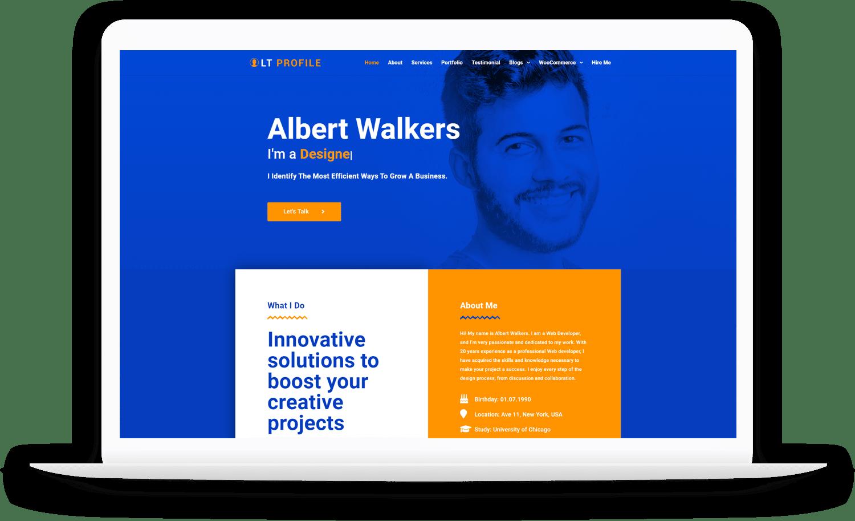 LT-Profile-wordpress-theme