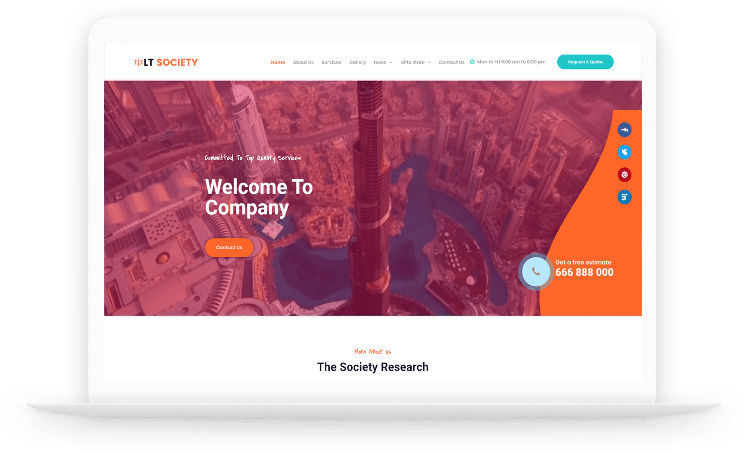 LT-Society-wordpress-theme