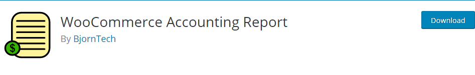 WooCommerce Accounting Report