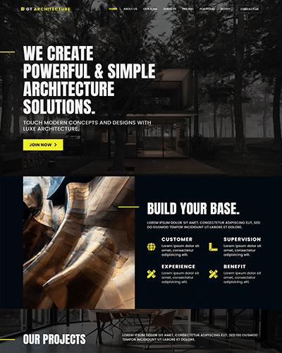 GT Architecture – Free Responsive Construction WordPress theme