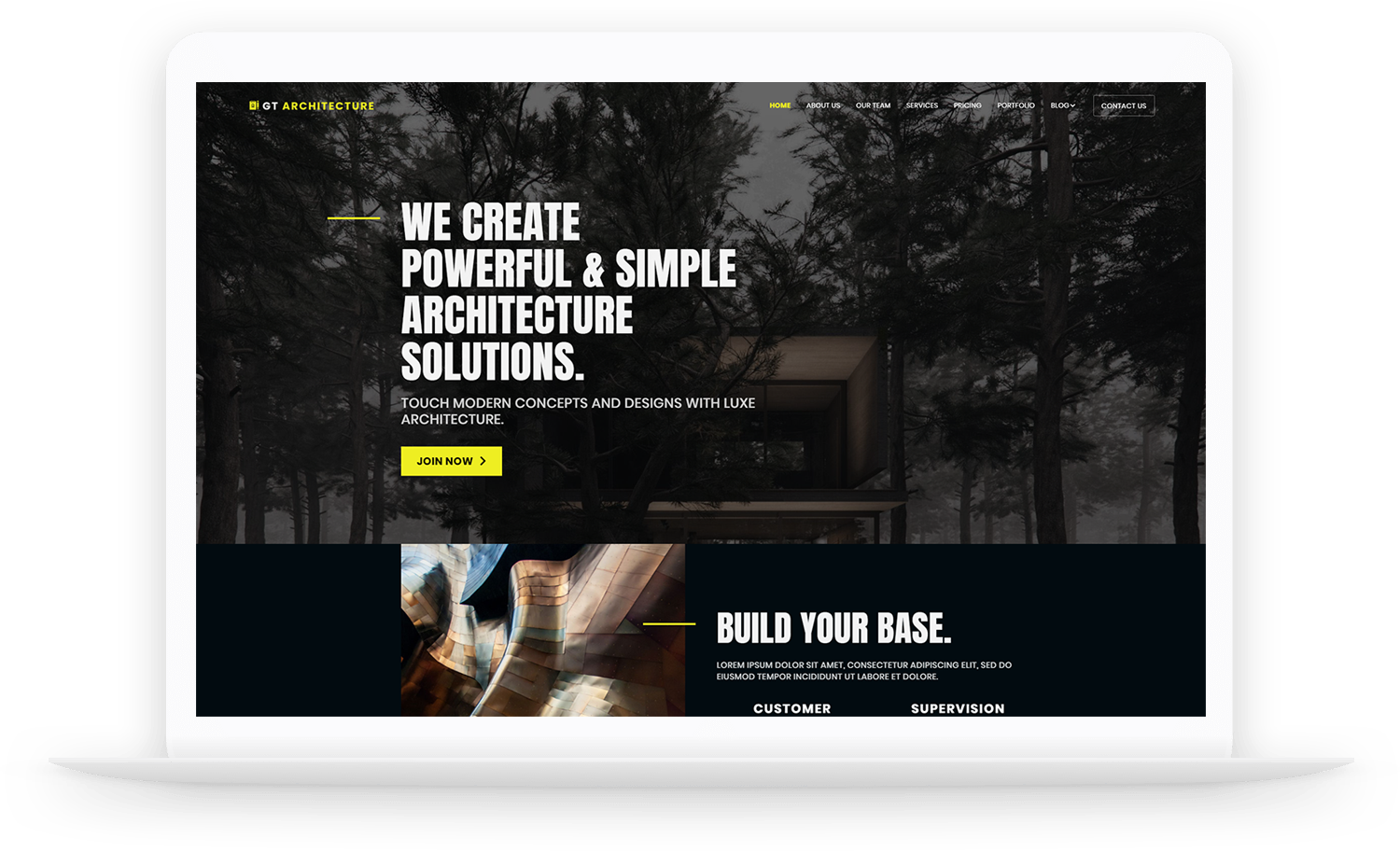 GT Architecture – Construction WordPress theme
