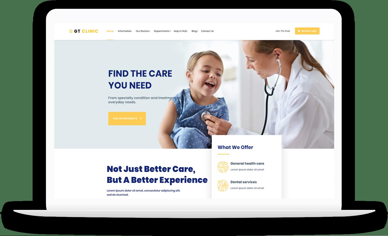 gt-clinic-free-wordpress-theme-elementor