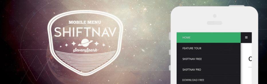 ShiftNav – Responsive Mobile Menu
