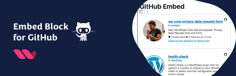 Embed Block for GitHub