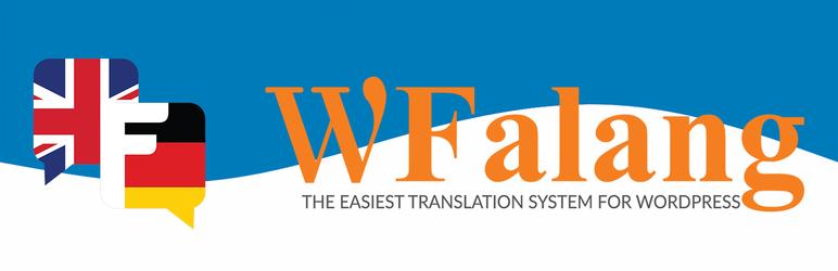 Falang multilanguage for WordPress