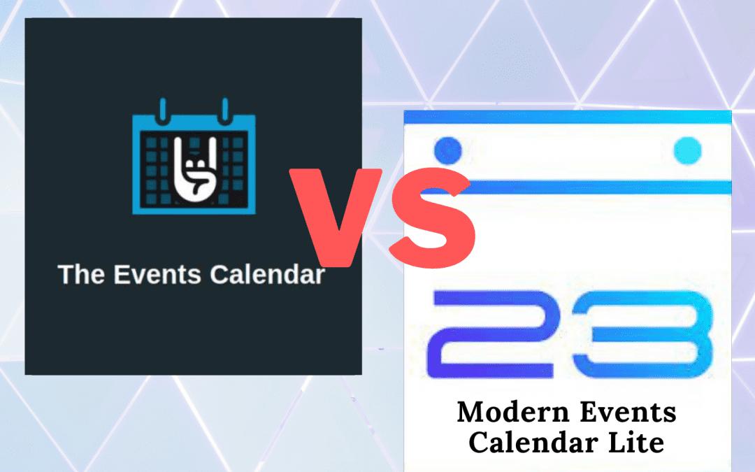 The Events Calendar(free) Vs Modern Events Calendar Lite: Who is the winner?